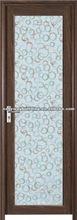 liga de alumínio quadro com vidro da porta do banheiro
