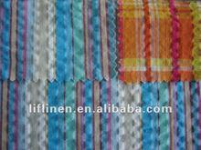 yarn dyed cotton seersucker fabric