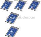 2013 hotsale tech 2 flash 32 mb pcmcia memory card high quality fast shipping