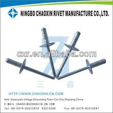 aluminium/steel multistage rivets