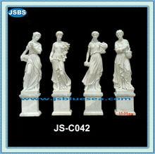 Stone Carving Famous Four Season God Statue