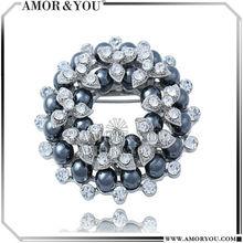 Beautiful And Elegant Wedding Brooches For Bridal Dresses JBKA001302