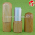 aluminum and Bamboo lipstick tube