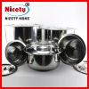 2013 new chinese stainless steel soup pot set