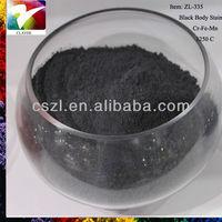 Pigment Black - ceramic body stain Cr Fe Mn