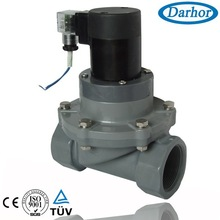 CPVC chemical solenoid valve for Aluminium acetate