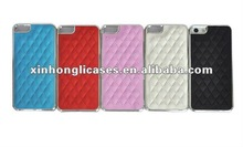 hot Chromed Leather cases for iPhone 5/5S