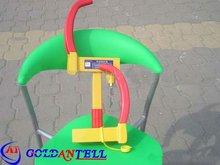 Steering wheel lock ring