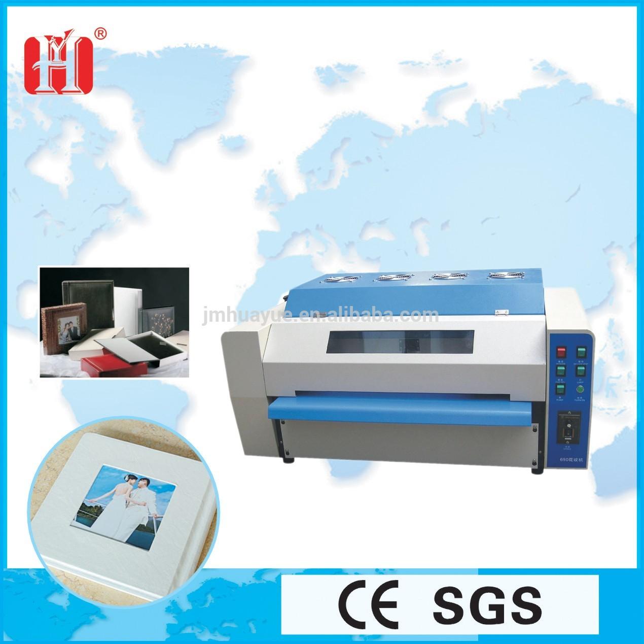 Máquina de revestimento UV para fotos