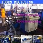 KOOEN New style waste plastic pe ldpe lldpe pp pelletizer machine pelletizing line plant