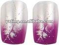 Finger unha produtos com o projeto do cliente de impressão/cosméticos beleza unhas/salão de unhas dos dedos