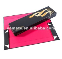 New product 2012 luxury paper cardboard hair packing box,hair extension box packaging,pink custom hair extention boxes