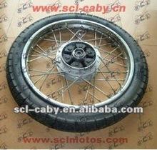 BAJAJ BOXER CT100 BAJAJ BOXER BM100 motorcycle parts Rear wheel comp