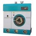 Cerrado sistema de refrigeración, gran caja de destilación completo automático de limpieza en seco de la máquina