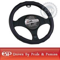 #19594 38cm diameter Genuine Leather Cool Steering wheel cover