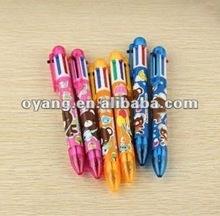 Colorful ballpoint pen