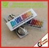 Zinc Alloy Enamel Badge With Butterfly Clip