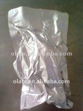 High temperature aluminum foil retort pouch for food