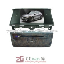 8'' HD digital in-dash Car dvd player for Honda Accord with GPS, IPOD, TV, radio, bluetooth, 7years manufactory for Auto Video