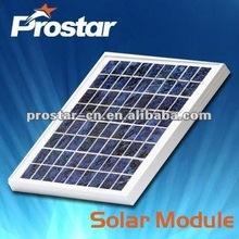 high quality portable 10w 12v monocrystalline silicon solar panel module
