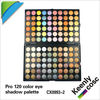 Best 120 color eyeshadow palette ;Best price ;smokey eye ;test certification and printing logo