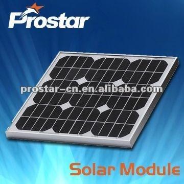 high quality high efficiency solar panel module 50w