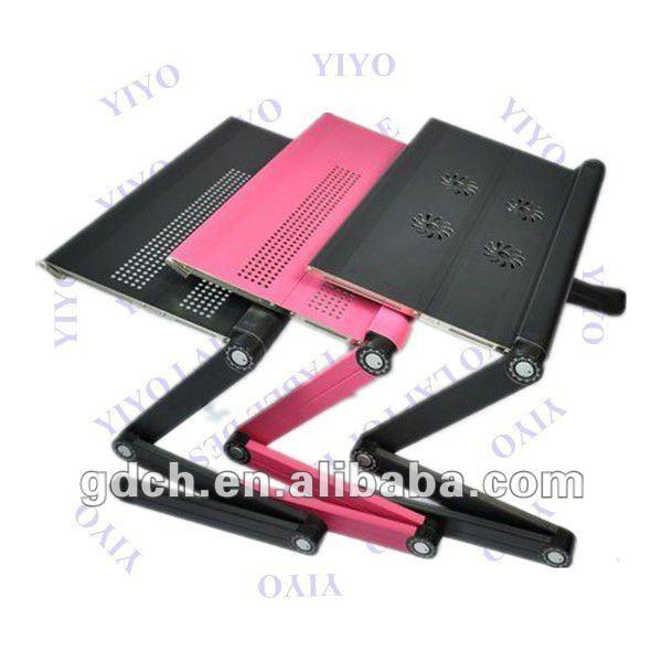 Rectangulr plegable de mesa para el ordenador port til - Mesa portatil ordenador ...