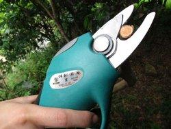 electric garden anvil pruning shears