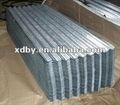 galvanizado de zinc corrugado para techos hojas