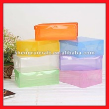 Hot Sale Promotional Plastic Clear Shoe Box