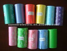 Pet product/Product/Popular Pet Biodegradable Waste Bag,color trash bag