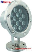 12W LED In-water Light IP67 Long lifespan 2 Years Warranty