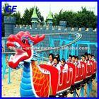 Attractive alibaba fr amusement park rides dragon slide for sale