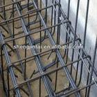 Ribbed reinforcing bar mesh