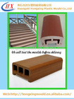 High quality and high output handrail WPC die mold