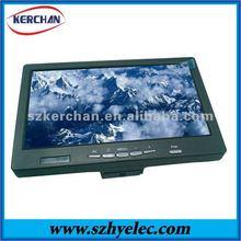 car lcd monitor 7 inches hdmi monitor with battery, VGA/HDMI/AV1/AV2