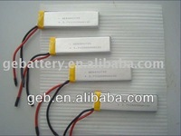 High Rate lithium polymer Lipo Batteries for RC Models 3.7V 2000mAh 10C