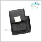 fashion leather pu cigarette case holder