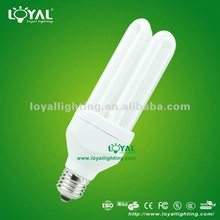 2U 3U 4U 5U 7mm-17mm Tricolor E14 E27 B22 2700K-6400K 3000hrs-10000hrs Daylight Energy Saving Light CFL Bulbs