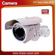 IR sony digital color ccd waterproof security cameras