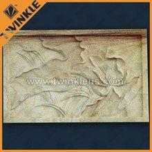 Embossment / stone marble embossment