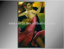 cheap dancing girl painting
