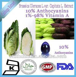 100% Natural Brassica Oleracea L.Var.Capitata L. Extract Powder