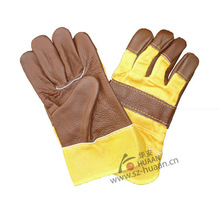 Sales Promotional leather work gloves for men and woman