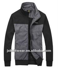 2012 100% cotton jacket men , brand jacket cheap zip outdoor jacket