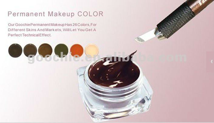 Pigment Cream for eyebrow embroidery cosmetic tattoo