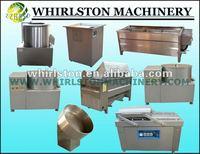 Equipment to make potato chips in China 0086 13523574832
