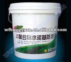 Polymer Cementitious Waterproof Coating (JS composite waterproof coating) JS