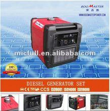 Small Portable Silent 3KW Gasoline Digital generator / Inverter Generato