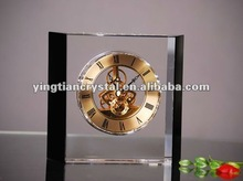 Fashion crystal clock for decoration